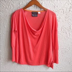 Anthropologie Guinevere 3/4 Sleeve Blouse Size M
